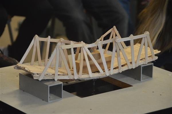 Popsicle Bridge Testing